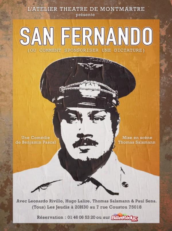 San Fernando ou comment sponsoriser une dictature… à l'Atelier-Théâtre de Montmartre