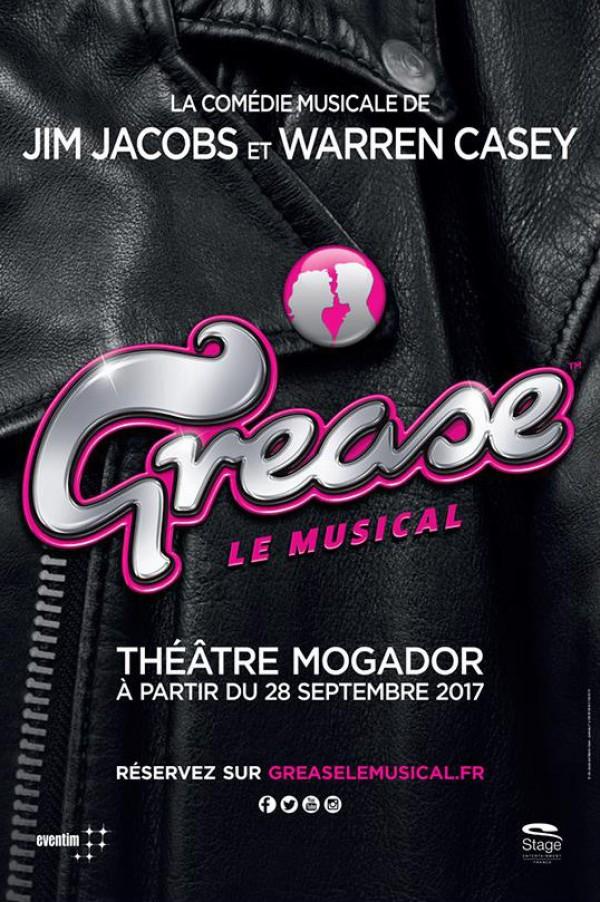 Grease au Théâtre Mogador, les T-Birds