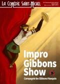 Impro Gibbons Show à la Comédie Saint-Michel