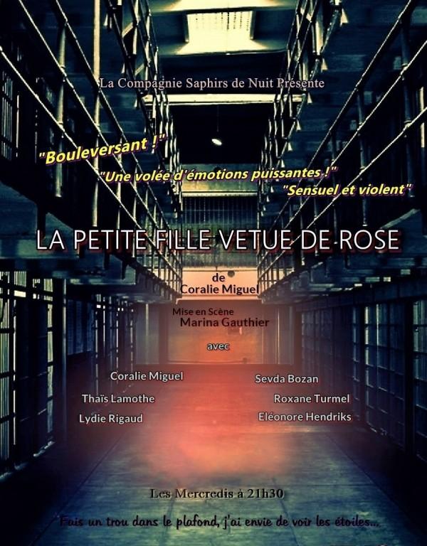 La Petite Fille vêtue de rose au Théâtre Montmartre Galabru