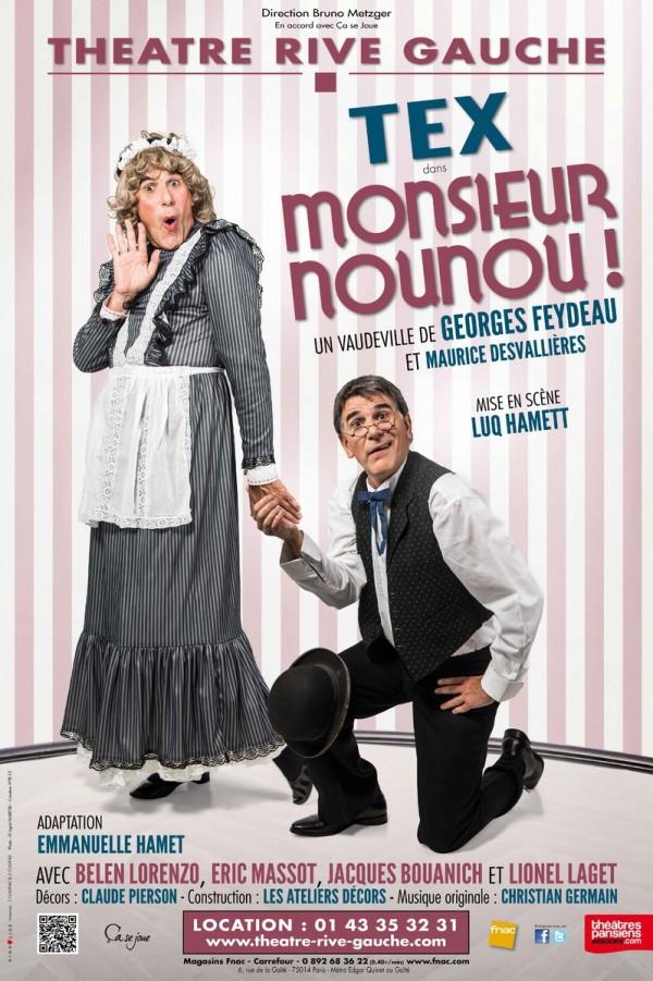 Monsieur Nounou ! au Théâtre Rive Gauche