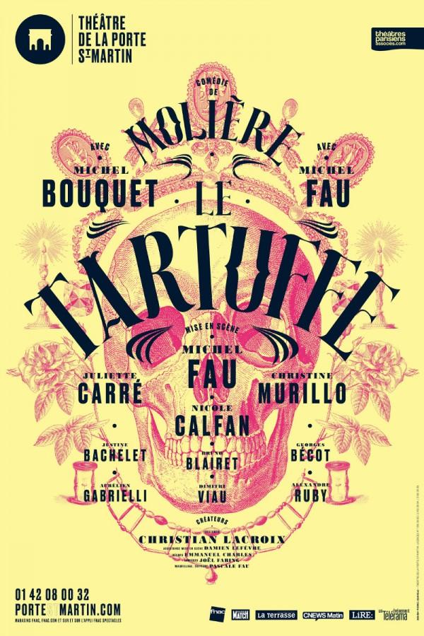 Le tartuffe avec michel bouquet et michel fau th tre de - Theatre de la porte saint martin 75010 paris ...