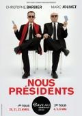 Nous présidents : Marc Jolivet et Christophe Barbier à la Salle Gaveau