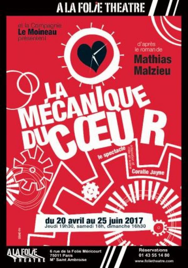 La Mécanique du cœur à la Folie Théâtre