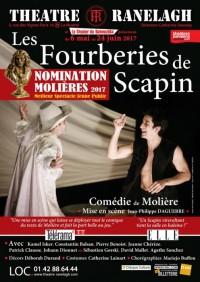 Les Fourberies de Scapin au Théâtre Ranelagh