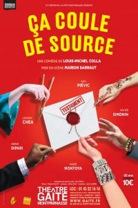 Ça coule de source au Théâtre de la Gaîté-Montparnasse