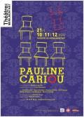 Pauline Cariou au Théâtre de Ménilmontant
