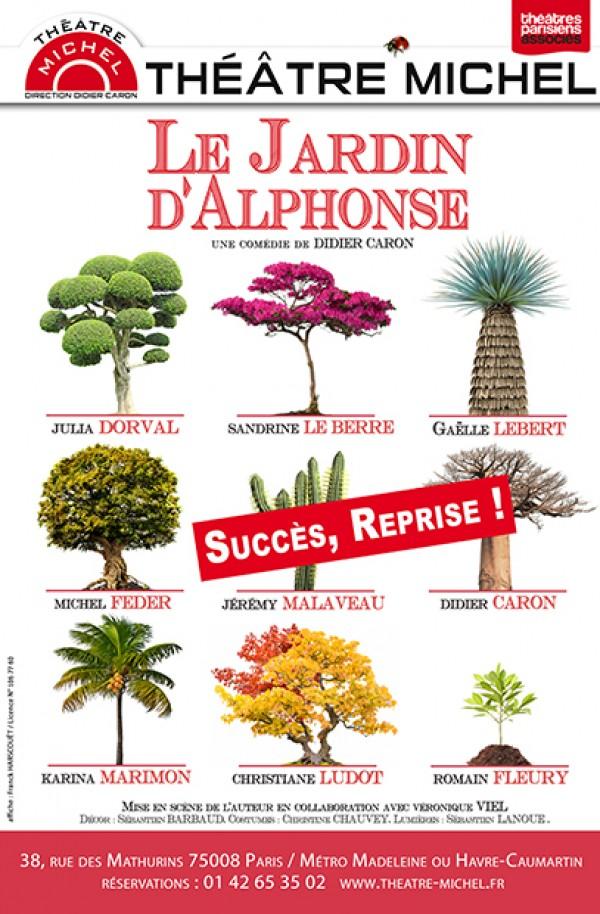 Le Jardin d'Alphonse : reprise au Théâtre Michel