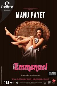 Manu Payet : Emmanuel au Théâtre de l'Œuvre