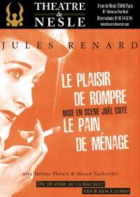 Le Plaisir de rompre / Le Pain de ménage au Théâtre de Nesle