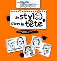 Un stylo dans la tête par le Théâtre La Passerelle