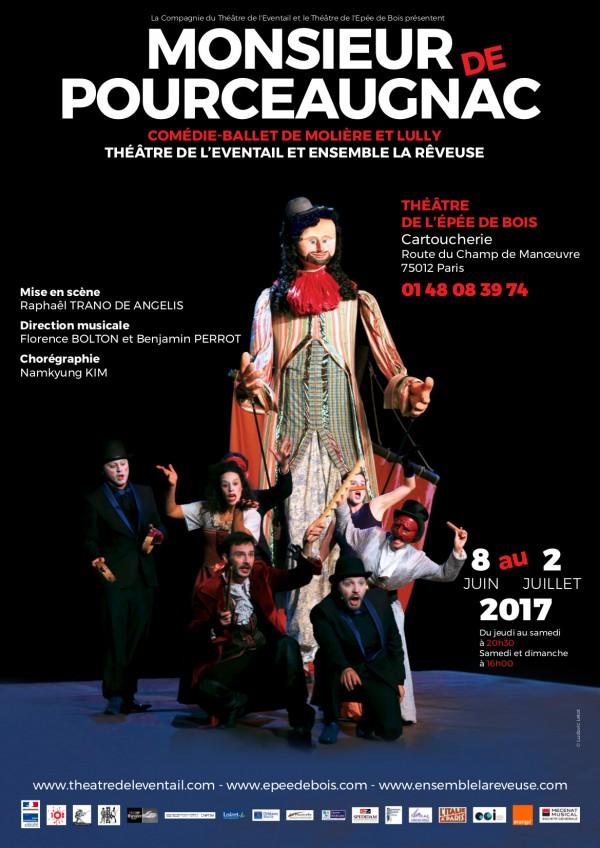 Monsieur de Pourceaugnac au Théâtre de l'Épée de Bois