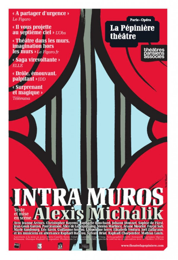 Intra Muros au Théâtre La Pépinière