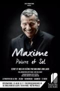 Maxime : Poivre et sel au Théâtre de Dix Heures