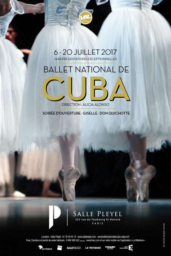 Ballet national de Cuba à la Salle Pleyel