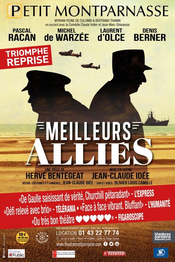 Meilleurs alliés au Petit Montparnasse : reprise
