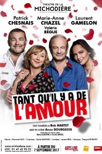 Tant qu'il y a de l'amour au Théâtre de la Michodière