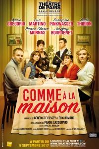 Comme à la maison au Théâtre de Paris