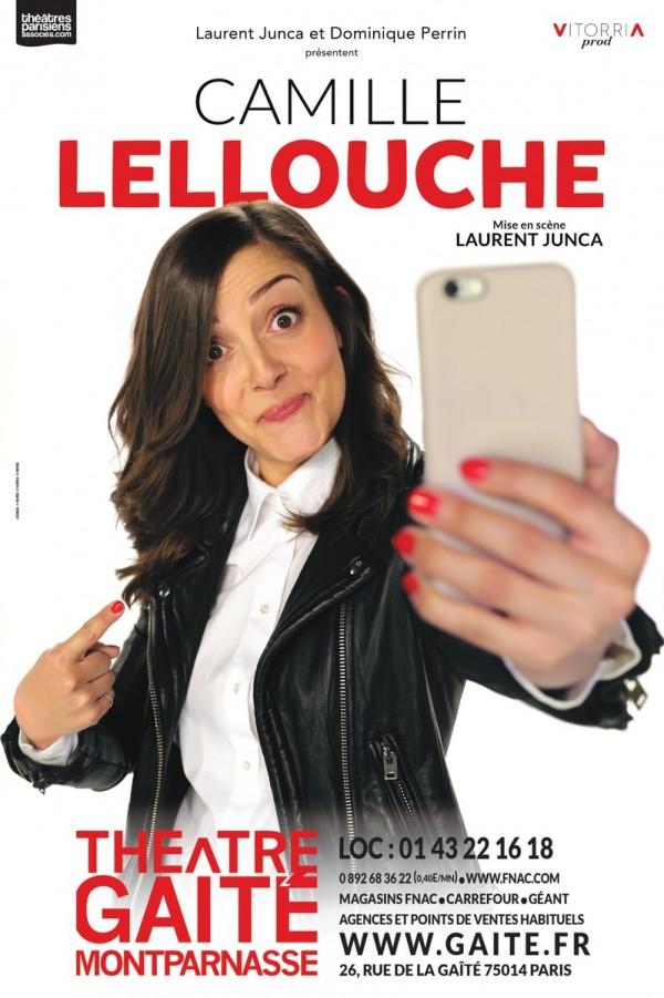 Camille Lellouche : Camille en vrai au Théâtre de la Gaîté-Montparnasse