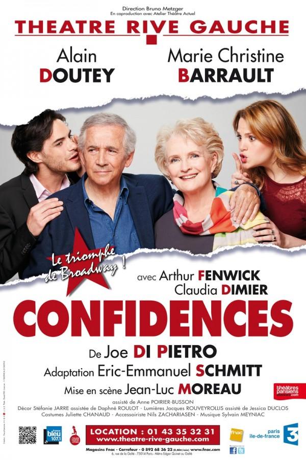 Confidences au Théâtre Rive Gauche