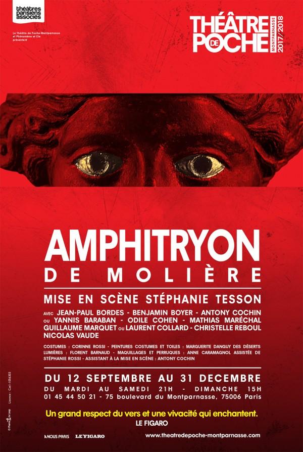 Amphitryon au Théâtre de Poche-Montparnasse