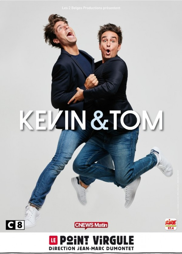 Kevin & Tom au Point Virgule