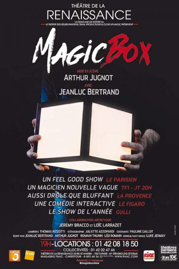 Magic Box au Théâtre de la Renaissance