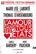 L'Amour dans tous ses états au Théâtre Tristan-Bernard