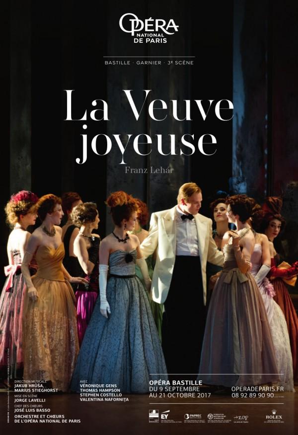 La Veuve joyeuse à l'Opéra Bastille