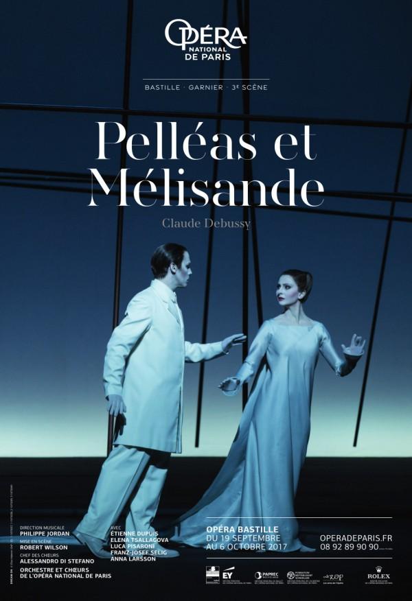 Pelléas et Mélisande à l'Opéra Bastille