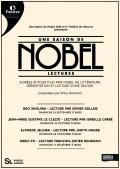 Une saison de Nobel : lectures par Xavier Gallais, Isabelle Carré, Judith Magre, François-Xavier Demaison au Théâtre de l'Œuvre