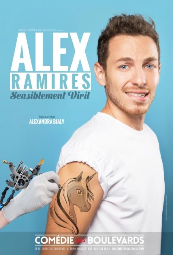 Alex Ramirès : Sensiblement viril à la Comédie des Boulevards