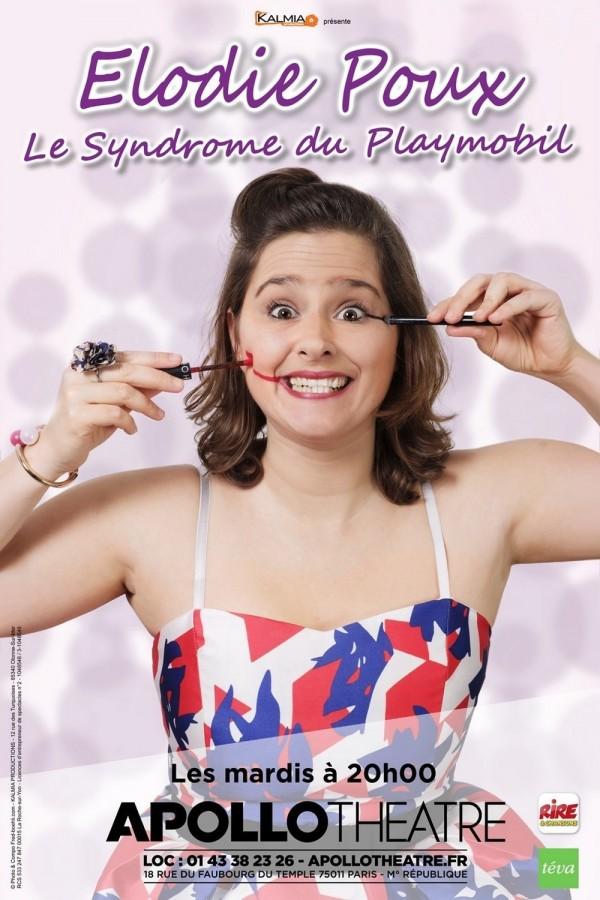 Élodie Poux : Le Syndrome du playmobil à l'Apollo Théâtre