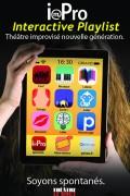 Impro : Interactive Playlist au Théâtre Le Bout