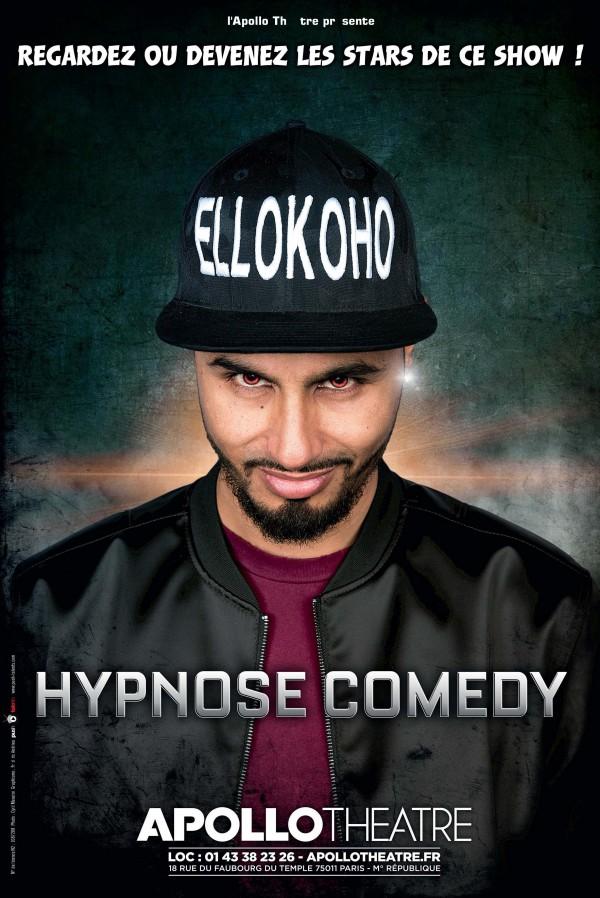 Hypnose Comedy à l'Apollo Théâtre