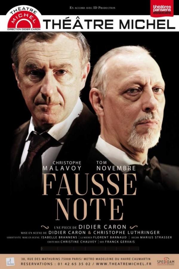 Fausse note au Théâtre Michel