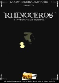 Rhinocéros au Théâtre Darius Milhaud