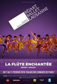 Béjart Ballet Lausanne : La Flûte enchantée au Palais des Congrès de Paris