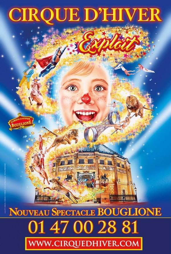 Cirque d'Hiver Bouglione : Exploit - Affiche
