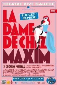 La Dame de chez Maxim au Théâtre Rive Gauche