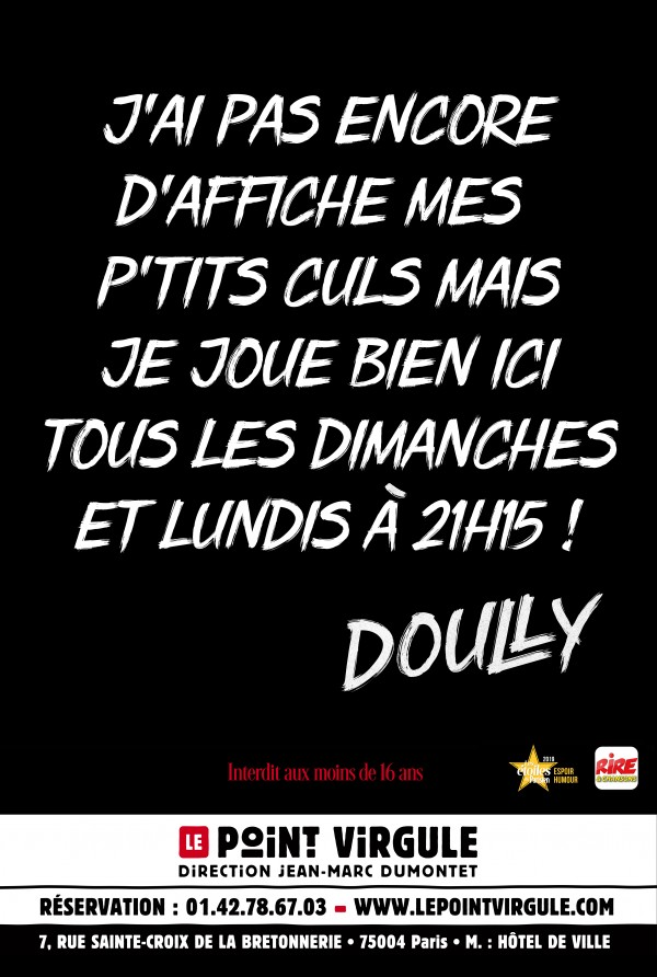 Doully : Admettons au Point Virgule