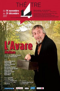 L'Avare au Théâtre 14 - Jean-Marie-Serreau