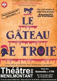 Le Gâteau de Troie au Théâtre de Ménilmontant