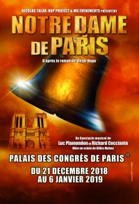 Notre-Dame de Paris au Palais des Congrès de Paris