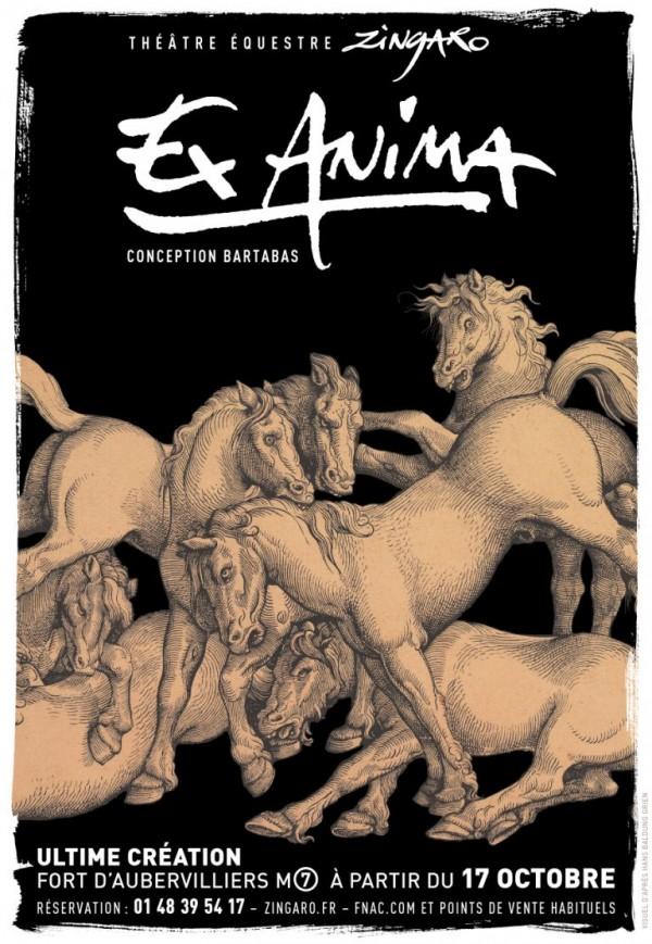 Théâtre Équestre Zingaro : Ex Anima - Affiche