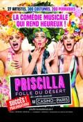 Priscilla folle du désert au Casino de Paris