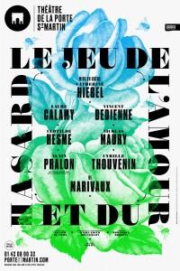 Le Jeu de l'amour et du hasard au Théâtre de la Porte Saint-Martin