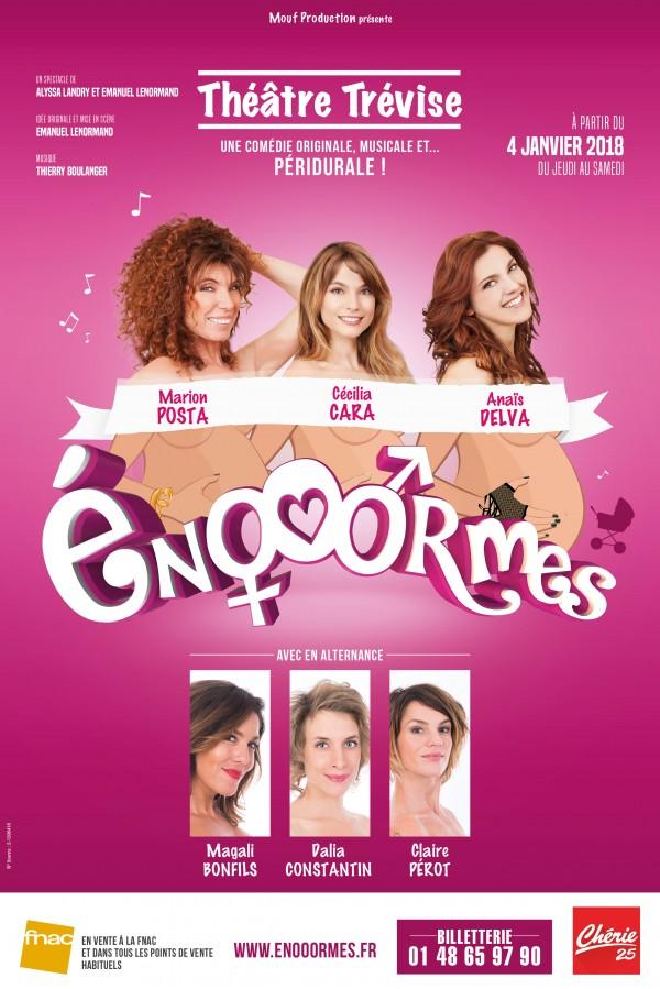 Énooormes au Théâtre Trévise