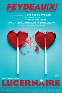 Feydeau(x), Amour et piano - Par la fenêtre - Fiancés en herbe au Lucernaire