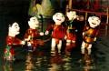 Marionnettes sur eau du Vietman